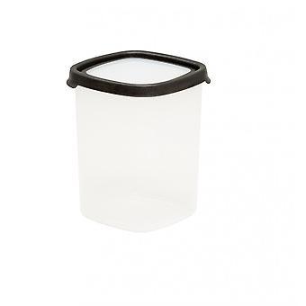 Wham opslag 5,03 Seal het 2,5 liter hoge vierkante luchtdichte plastic voedsel doos