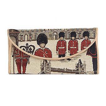Königliche Wach-Geldbörse von signare tapestry/enve-rgd