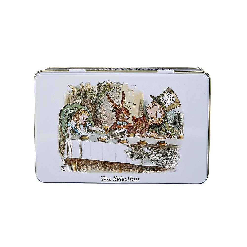 New english teas alice in wonderland english tea selection tin 100 teabags