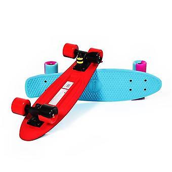 "Kids Skateboard 2Color 22"", 80A PU Wheels, ABEC 7 Bearings, para principiantes"