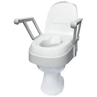 Drive toiletverhoger tse 120 met deksel en armleuningen - hoogte verstelbaar