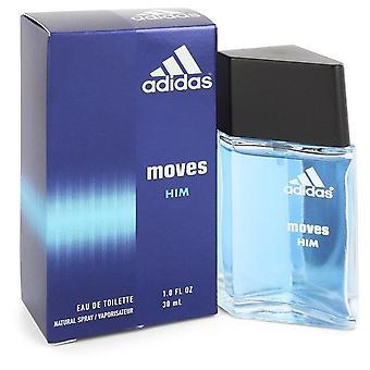 Adidas moves eau de toilette spray by adidas 402995 30 ml
