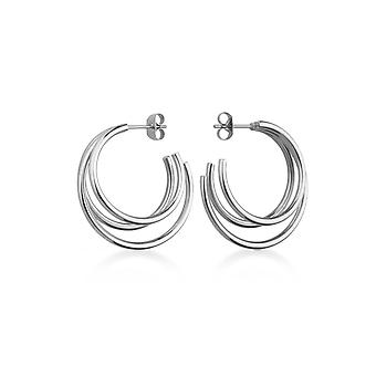 Rosefield THES-J218 earrings - THE LOIS Cr ole steel