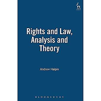 Rights and Law: Analysis and Theory