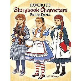 Favoriete Storybook Characters Paper Doll door Tom Tierney