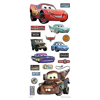 Clear Sticker - Disney - Cars - 5.5'' x 12'' Toys Gifts New pdcr7