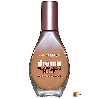 Maybelline Dream Touch fluide Nude impeccable Fondation 20ml nue (#21)