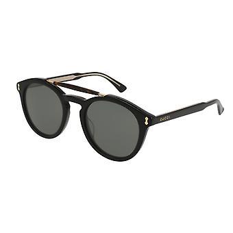 Gucci GG0124S 001 Zwart/Grijze Zonnebril