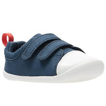 Clarks Roamer Craft T Boys zapatos de lona para bebés