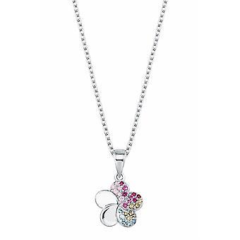 Prinzessin Lillifee Kinder Kids Halskette Silber Zirkonia Blumen Mädchen 2027896