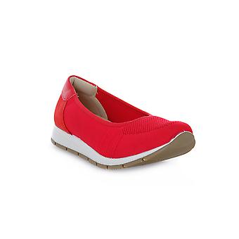 Enval soft red edith shoes