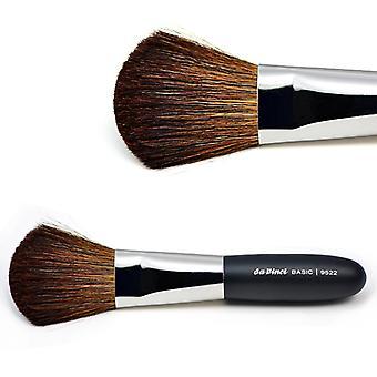 Pulver pensel med brun fjellgeit hår 9522