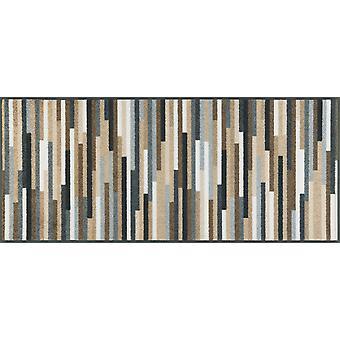 wash+dry doormat Mikado Stripes nature 60 x140 cm rug