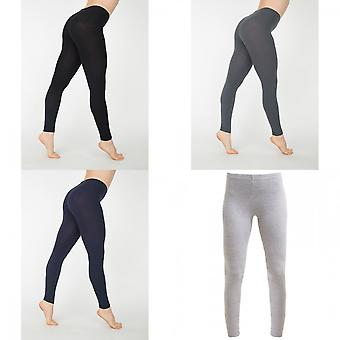 American Apparel Womens/Ladies Cotton Spandex Jersey Leggings