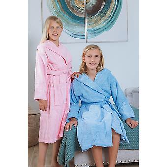 Kinder puur katoen / badjas met capuchon