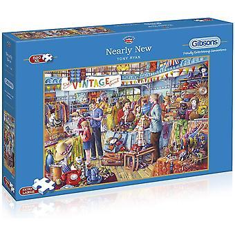 Gibsons 500XXL Piece 500 Piece Nearly New Jigsaw Puzzle