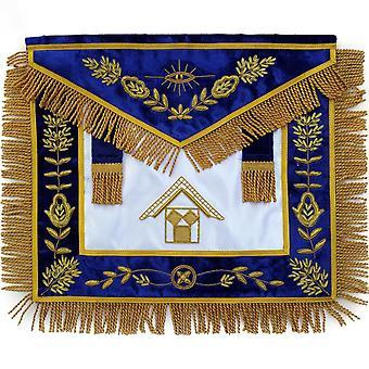 Masonic past master apron bullion hand embroidered
