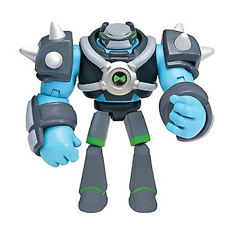 Ben 10, Action Figure - Omni-Kix Armor Shock Rock