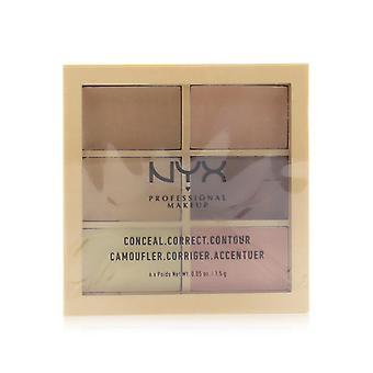 Conceal Correct Contour Palette - # Light - 6x1.5g/0.05oz