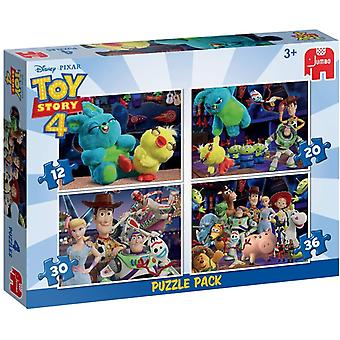 Toy Story 4 4 Em 1 Puzzle Pack