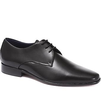 Jones Bootmaker Mens Dallas Leather Derby Shoes