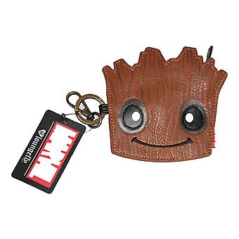 Loungefly Marvel Gotg Groot Face Coin Purse