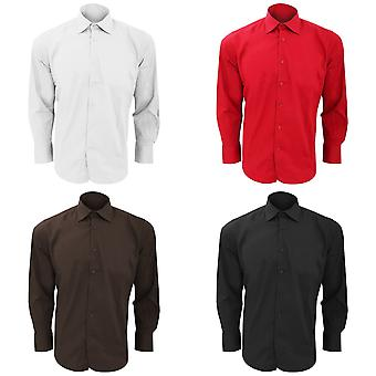 SOLS Mens Brighton Long Sleeve Fitted Work Shirt