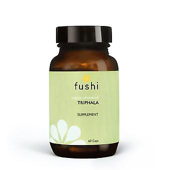 Fushi Wellbeing Organic Triphala 333mg Veg Caps 60 (F0020799)