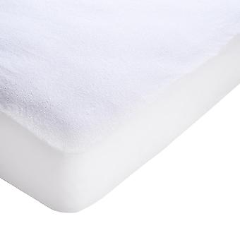 Yescom Cotton Terry Mattress Protector Waterproof Hypoallergenic Vinyl Free Anti Mite Dust Fitted Cover Twin Home