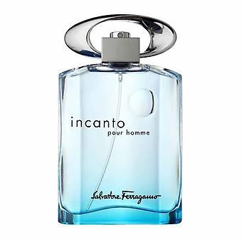 Salvator Ferragamo - Incanto Pour Homme Blue - Eau De Toilette - 100ML