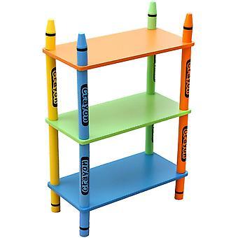 Kiddi Style Crayon 3 Tier Shelf