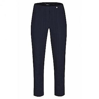 ROBELL Robell Navy Trouser Bella 52642 54554 69