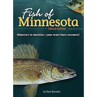 Fish of Minnesota Field Guide by Dave Bosanko - 9781591937906 Book
