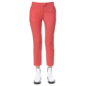 Ps By Paul Smith W2r083tb3040822 Women's Orange Wool Pants
