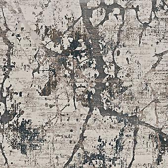 3' x 5'  Ivory or Mist Abstract Viscose Area Rug