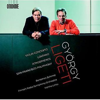 G. Ligeti - Gy Rgy Ligeti: Violin Concerto; Lontano; Atmosph Res [CD] USA import