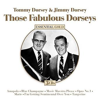 Those Fabulous Dorseys - Tommy Dorsey & Jimmey Dorsey [CD] USA import