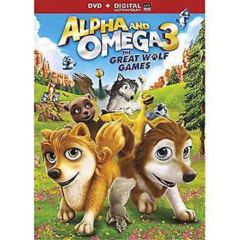 Alpha & Omega: The Great Wolf Games [DVD] USA import