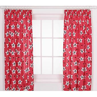 One Direction Chaos Curtains 66'x54' (168x137cm)