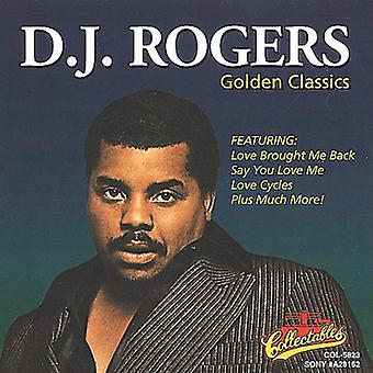 D.J. Rogers - Golden Classics [CD] USA import