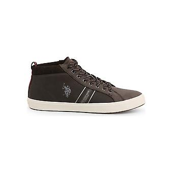 U.S. Polo Assn. - Shoes - Sneakers - WOUCK7147W9-Y1-DKBR - Men - saddlebrown - EU 43