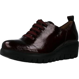 Wonders Comfort Shoes C33225 Color Wine
