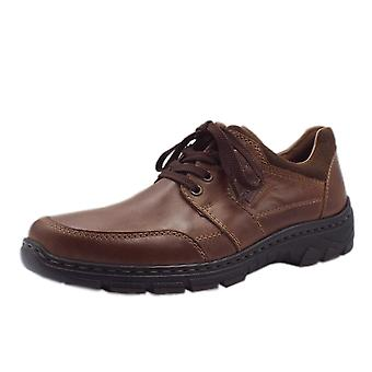 Rieker 19911-25 Ramon Men's Casual Lace Up Shoes In Brown