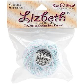 Lizbeth Cordonnet Cotton Size 80 - Summer Fun