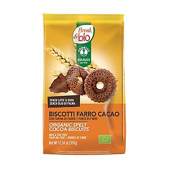 Spelled cocoa biscuits 350 g