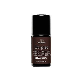 StripLAC Peel Off UV LED Nail Polish - Black Cherry 8mL (83)