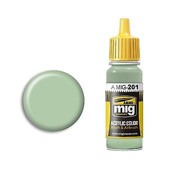 Ammo by Mig Acrylic Paint - A.MIG-0201 FS 34424 Light Gray Green (17ml)