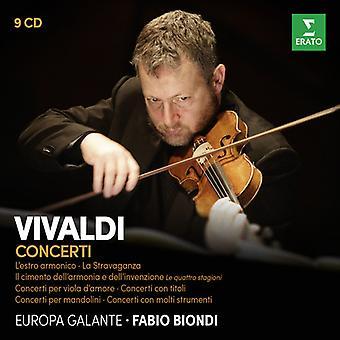 Vivaldi / Biondi / Europa Galante - II Cimento Dell'Armonia E Dell'Inventione [CD] USA import
