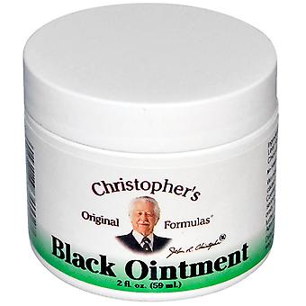 Christopher's Original Formulas, Black Ointment, Anti-Inflammatory, 2 fl oz (59