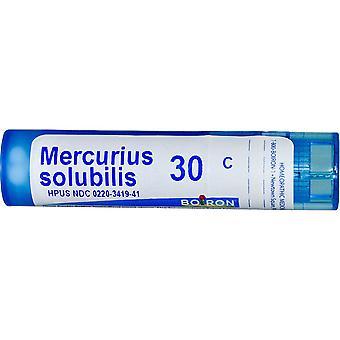 Boiron, Single Remedies, Mercurius Solubilis, 30C, Approx 80 Pellets